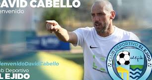El nuevo entrenador del CD El Ejido.