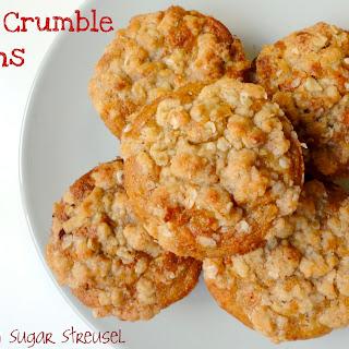 Apple Crumble Muffins (Vegan).
