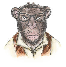 Tim Holtz Sizzix Thinlits Die Set 4/Pkg - Hipster Chimp