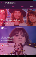 Screenshot of Eurovision Song Contest
