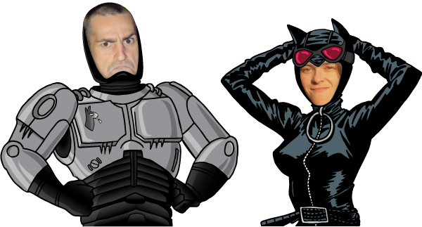 Haydee Bouscasse en Catwoman_Tony Founs en Robotoy