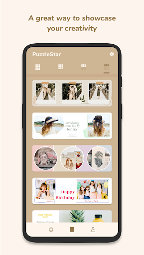 Puzzle Collage Template for Instagram - PuzzleStar 3.1.4 screenshots 4
