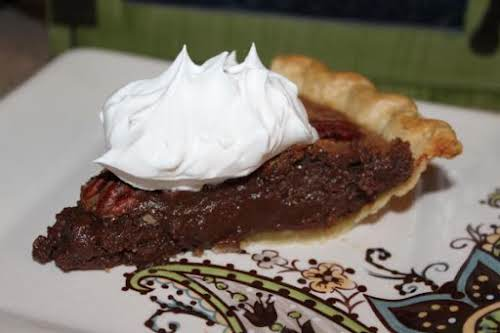 "Pecan Fudge Pie ""Made this and it was delish! Not overly sweet..."