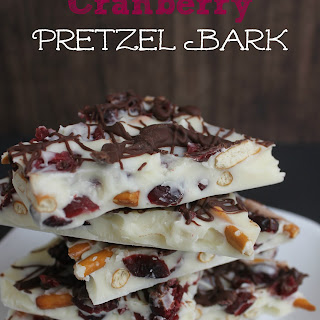 Cranberry Pretzel Bark