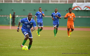 Photo: Alfred Sankoh  [Leone Stars v Ivory Coast, 6 September 2014 (Pic © Darren McKinstry / www.johnnymckinstry.com)]