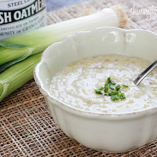 Irish Oatmeal Leek Soup.