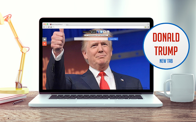 Donald Trump 2016 New Tab