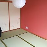 room layout of a $50 Ryokan at Gaku Guesthouse in Gora, Hakone in Hakone, Kanagawa, Japan