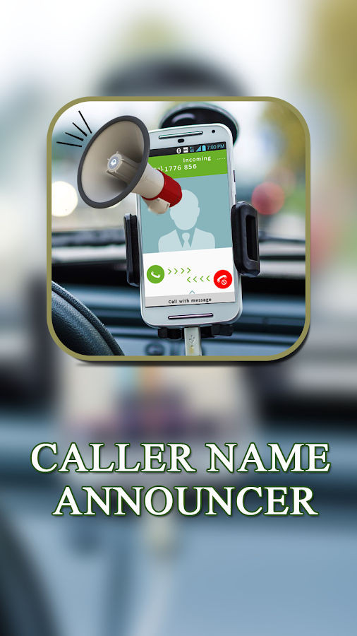 Caller Name Announcer - SMS Talker- screenshot