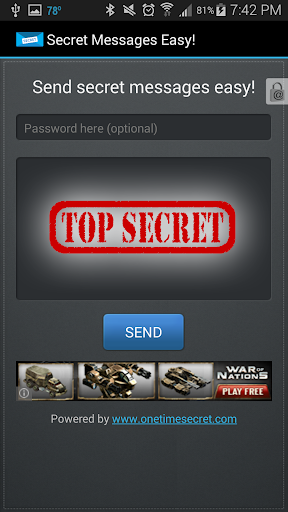 简单的秘密消息