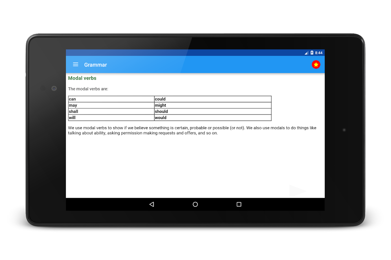 TOEFL Preparation- screenshot