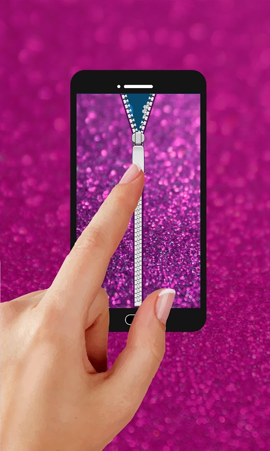 Glitter zipper mobile lock android apps on google play for Mobel lossek