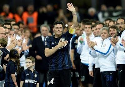 """Legende Zanetti na afscheid: """"Ik gaf alles tot het einde, maar stoppen was de juiste beslissing"""""""