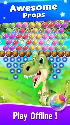 Dinosaur Bubble Shooter Primitive 1.0 screenshots 4
