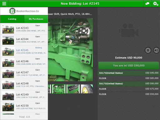 Booker Auction Company 2.0.1 screenshots 2