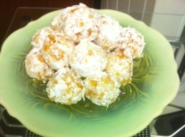 Home Economics Apricot Coconut Balls Recipe