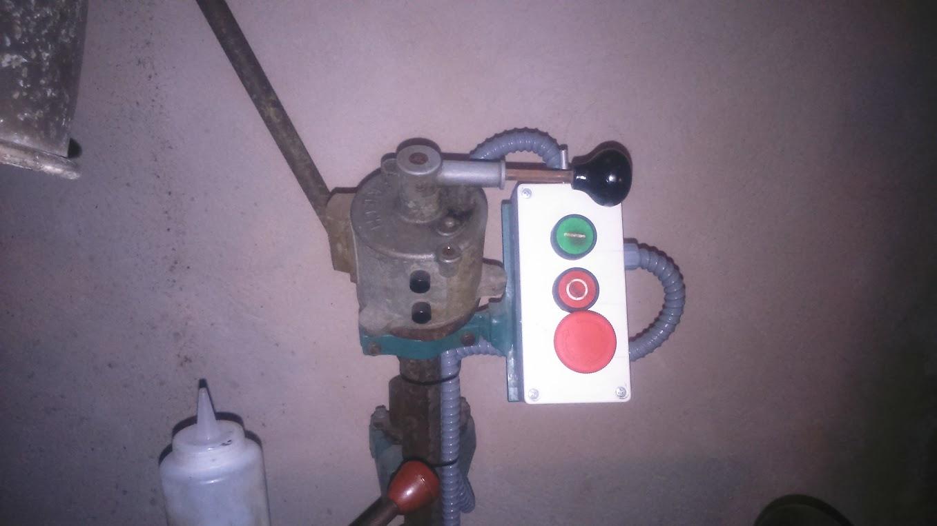 Circuito Variador De Frecuencia : Un variador para varias máquinas. mi montaje.