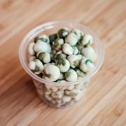 Wasabi Peas Pot