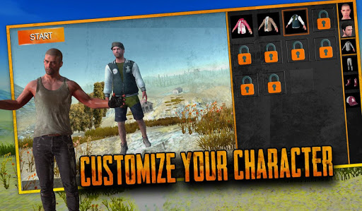 Free survival: fire battlegrounds battle royale apkdomains screenshots 1