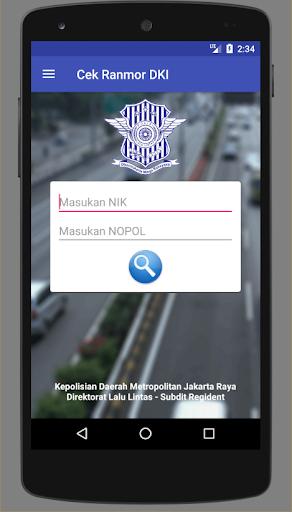 Cek Ranmor & Pajak DKI Jakarta  screenshots 2