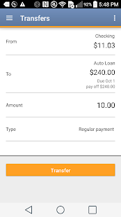 USE Credit Union Mobile- screenshot thumbnail