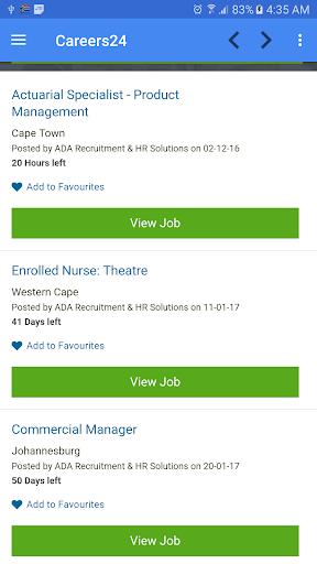 Job vacancies in South Africa 1.7 screenshots 8