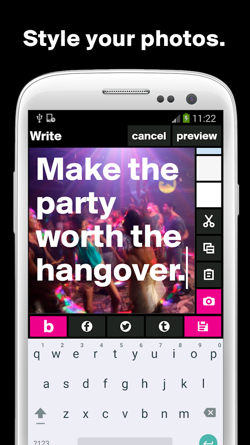 Boldomatic - Everything Text- screenshot