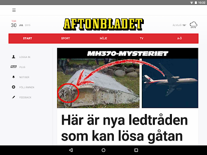 Aftonbladet- screenshot thumbnail