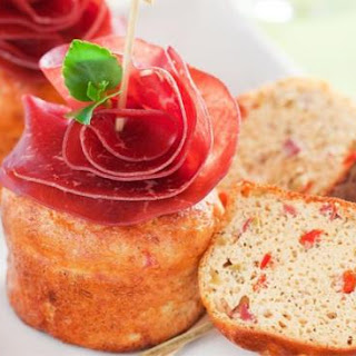 Savory Muffins With Bresaola And Chili Peppers