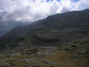 Photo: View from St. Patrick's Bed of the Maumeen (Mám Éan) mountain pass