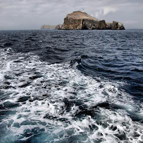 Channel Islands, California by Jerzy Szablowski - Landscapes Waterscapes ( water, california, anacapa, olympus, island )