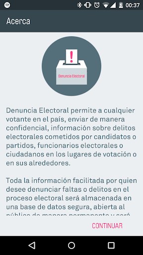 Denuncia Electoral