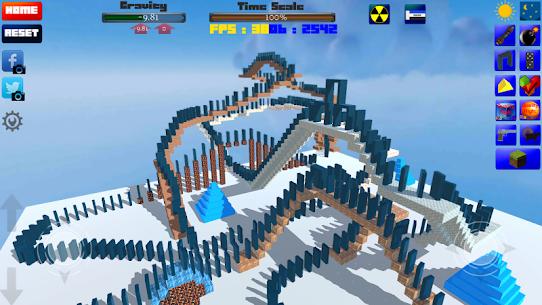 CUBE Physics Simulation 7