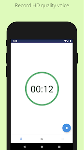 Easy voice recorder - Background voice recorder Screenshot