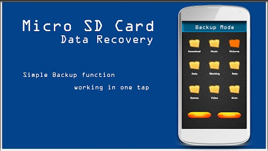 Micro SD Card Data Recovery screenshot 1