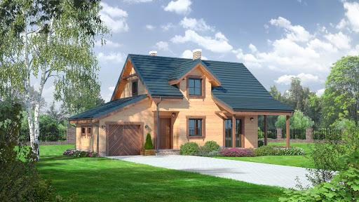 projekt domu Osiek 8rs