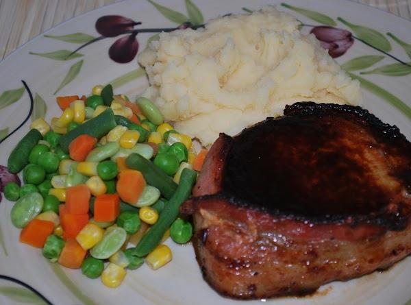 Bacon Wrapped Pork Chops Recipe