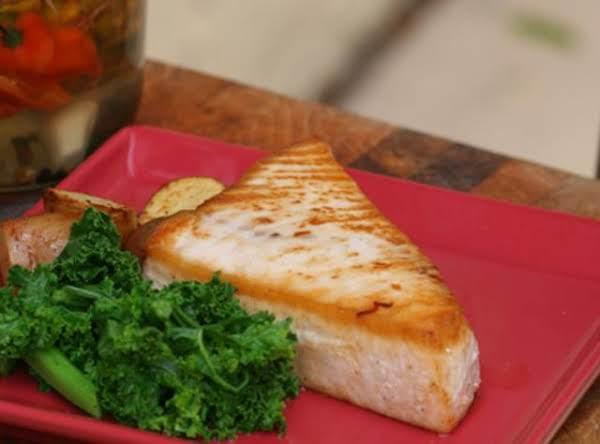 Grilled Swordfish With Pique De Piña Recipe