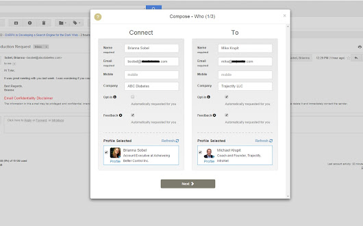 IntroNet for Gmail