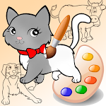 Little Painter. Draw animals Icon