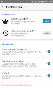 Instant Translate - Übersetzer Screenshot