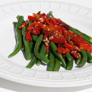 Garlic Green Beans Pimento