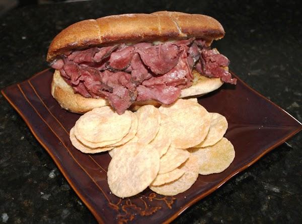 Pastrami & Provolone Sandwich Recipe