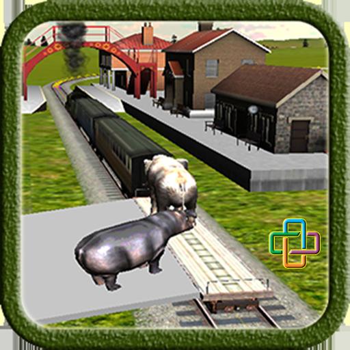 Train Driving Game:Zoo Animals 模擬 App LOGO-APP試玩
