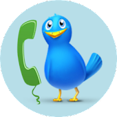 TwitCall free calls on Twitter