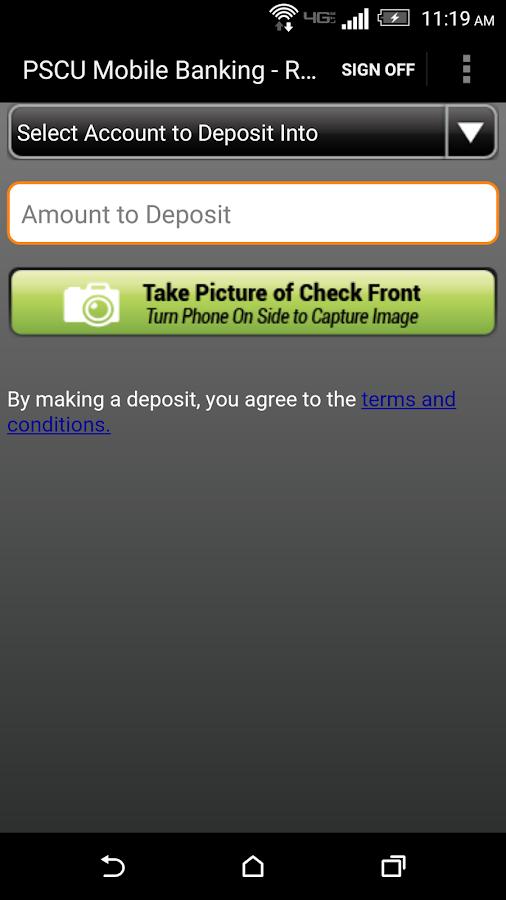 Public Service Credit Union - screenshot