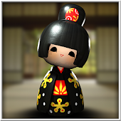 Japanese Geisha Doll 3D