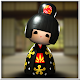 Japanese Geisha Doll 3D icon