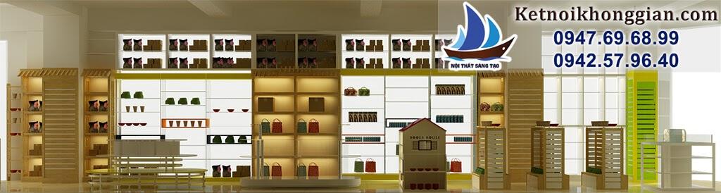 bài trí thiết kế nhà sách chất lượng hàng đầu