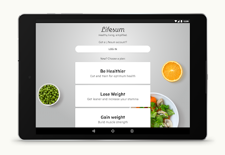 Lifesum: Healthy lifestyle app- screenshot thumbnail